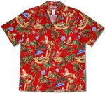 Christmas in Hawaii aloha shirt Father & Son matching