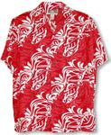 Classic Hawaiian Christmas Men's Rayon Shirt