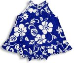 Classic Hibiscus infant & toddler girls halter 2pc set