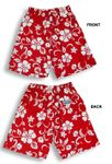 Classic Hibiscus Men's cotton Shorts