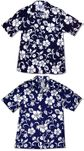 Classic Hibiscus Men's Hawaiian Aloha Cotton Shirt