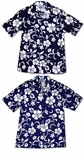 Classic Hibiscus Men's made in Hawaii cotton shirt