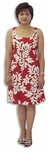 CLOSEOUT Classic Hawaiian Quilt empire tie front