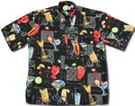 CLOSEOUT Cocktails Anyone? Men's Rayon Shirt