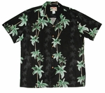 Coconut Panel Men's Rayon aloha shirt