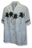 Coconut Tree Men's Chest Band Shirt