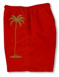 Coconut Tree kaylua bay mesh liner swim trunks