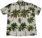 Coconut Tree Waimea Casuals mens cotton aloha shirt