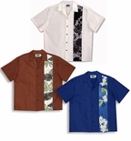 Contrast Garden Panel Men's Shirt