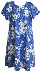 Crack Hibiscus cotton muu muu reg. and plus sizes