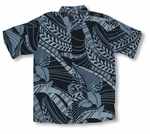 CLOSEOUT Cubavera Cool Blue Men's 100% Rayon Hawaiian Style Resort Wear Print
