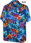 Dazzling Tropical Jungle Parrot Mens Shirt
