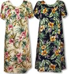 Delicate Tropical MuuMuu House Dress