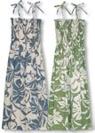 Delicate Tropicals Women's tube dress