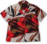 CLOSEOUT Delightful Hibiscus Womens Shirt
