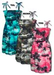 Night Time Surf Women's Elastic Tube Top Sundress