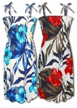 Delightful Hibiscus Womens Hawaiian Sundress