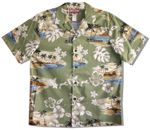 CLOSEOUT Distant Island men's shirt