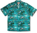 Dolphins Angel Fish Men's Shirt