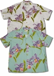 Double Orchid men's paradise found shirt