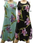 Double Orchid Women's Short Dress