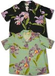 Double Orchid women's paradise found shirt