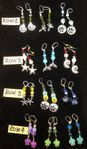 Hand Crafted Earrings with Ocean Themes