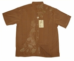 Earth Tropics Men's Embroidered Resort Wear Shirt