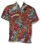 Fancy Paisley Men's Terivoile Rayon Shirt