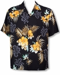 Fern Hibiscus men's Hawaiian shirt