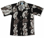 Fern Leaf Garden Boy's Rayon Shirt