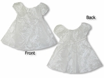 Fern Leaf Garden Girl's Princess Style Wedding White Dress