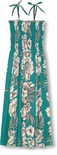 Fern Leaf Garden Tube Style Hawaiian Sundress