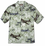 X-Large Fighter Bomber Airplane Men's Shirt