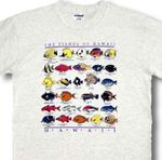 Fishes of Hawaii boy's & girl's cotton T-Shirt