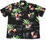 Flamingo 19 Mens Aloha Shirt