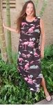 Flamingo Lagoon Women's Long Tank Dress