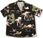 Flamingo Lake women's paradise found shirt