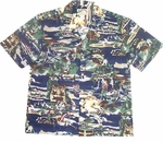 Fly Fishing  Men's Aloha Shirt