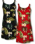 Fragrant Frangipani Garden Women's Bias Cut Dress