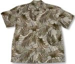 Frond of You Men's Cotton Shirt