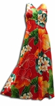 Full Bloom Women's Button Front Long Tank Dress