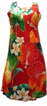 Full Bloom women's short tank dress