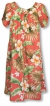 Full Bloom tea & ankle length muumuu