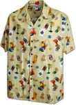 Gamblers Blackjack, Dice Mens Hawaiian