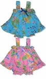 CLOSEOUT Garden Delight Girl's Ruffle 2pc
