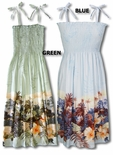Garden of Eden Spaghetti straps Sundress