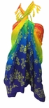 Rainbow Sheer Gecko Full Size Terivoile Sarong