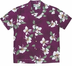 Ginger Palm  Men's Aloha Shirt