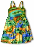 Alligator Girl's Bungee Dress
